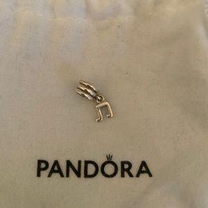 Pandora silver dangle charm